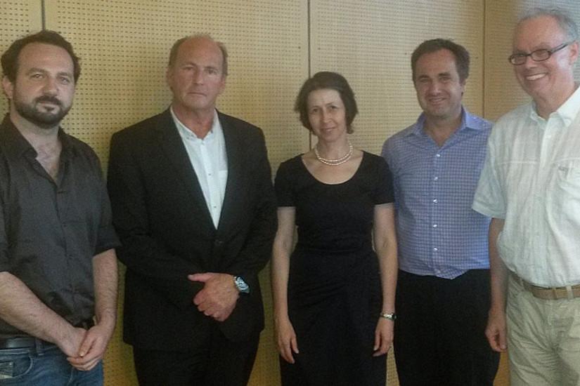 Spannender Diskussion: Pirim Fessler, Albert Kaufmann, Barbara Gasteiger-Klicpera, Gerhard Wohlfahrt und Richard Sturn (v.l.)