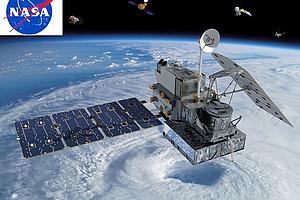 Der 2014 gestartete Global Precipitation Mission (GPM)-Satellit mit neuem Niederschlagsradar ist Kern der Precipitation Measurement Missions (PMM). Bild: NASA 2015