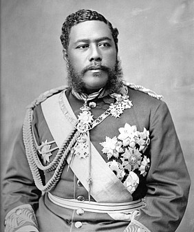 King David Kalakaua, Photo credits: https://hawaiiankingdom.org/blog/the-1887-bayonet-constitution-the-beginning-of-the-insurgency/kalakaua-2