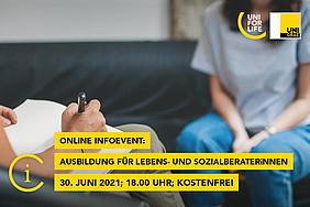Online Infoevent Psychosoziale Beratung KOMPAKT, UNI for LIFE