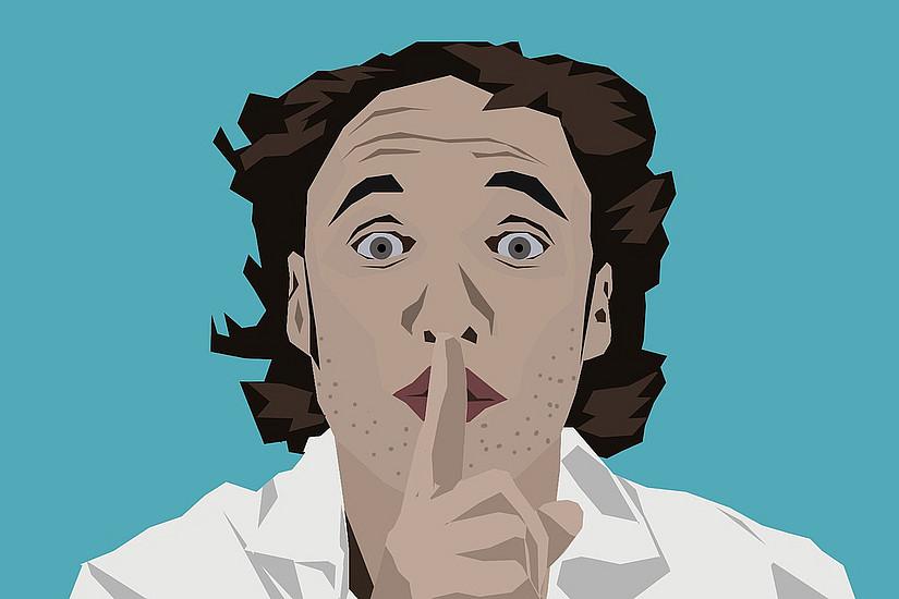 Schweigekanzler ist das Wort des Jahres 2018. 2005 erreichte es bereits auch den ersten Platz. Foto: Pixabay.com