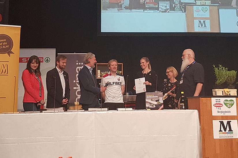 Fotoarchiv OLG, Fritz Treiber, Helmut Jungwirth, Kerstin Jungwirth, Nadine Kemeter, Prix Prato, Team, Vernstaltung