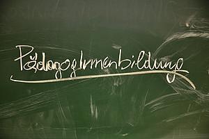PädagogInnenbildung  auf Tafel
