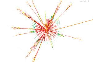 Mehr als 40 Jahre wurde nach dem Higgs-Teilchen gesucht.