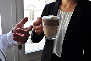Kaffeepause, Netzwerken