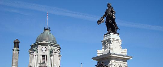 Samuel de Champlain, Québec