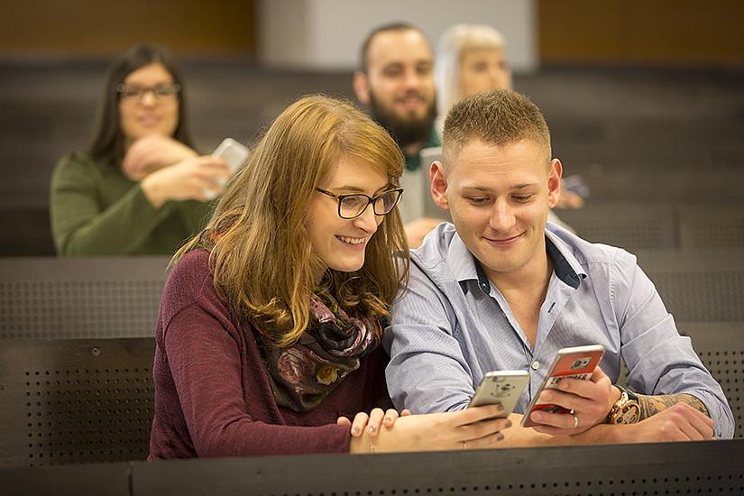 Die Anmeldung zu Lehrveranstaltungen im Sommersemester 2018 beginnt in der Woche ab 5.Februar. Foto: Uni Graz/Lunghammer
