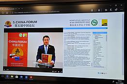 Dr. Cchen am Screen