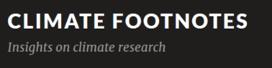 """DK Blog """"Climate Footnotes"""""""