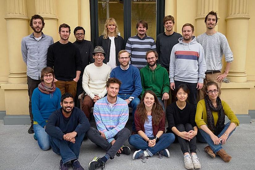Das Team der DK-DissertantInnen. Foto: DK Climate Change