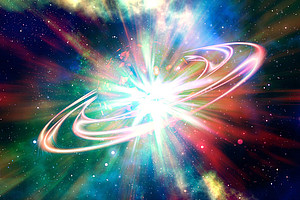 Phänomene, wie zum Beispiel der Urknall, können mithilfe der Teilchenphysik auch erklärt werden. Foto: Pixabay.com