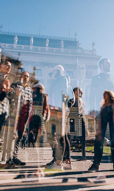 An der Universität Graz laufen bereits die (Vor-)Arbeiten für das nächste Studienjahr. Die allgemeine Zulassungsfrist startet am 8. Juli und dauert bis 5. September 2019. Foto: Uni Graz/Kanizaj