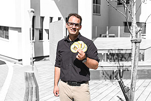 Philipp Spitzer macht Wissenschaft angreifbar. Foto: Uni Graz/Tzivanopoulos