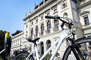 Mit zahlreichen Initiativen ist die Universität Graz Vorbild für gelebte Nachhaltigkeit. Foto: Uni Graz