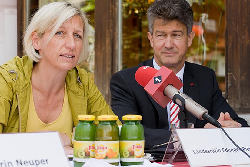 Landesrätin Kristina Edlinger-Ploder ...