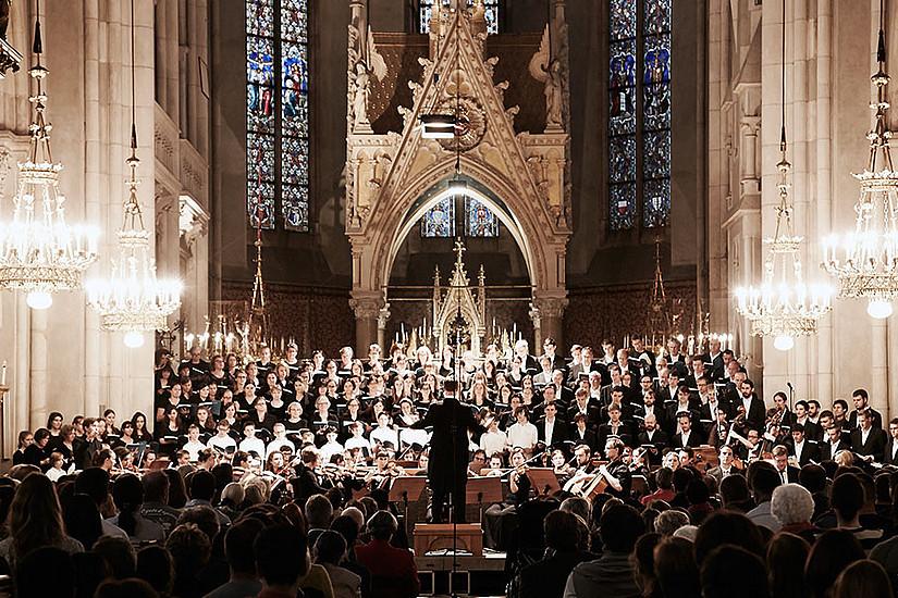 Rund 70 aktive SängerInnen hat der Grazer Unichor aktuell. Foto: Gerhard Donauer | www.foto-donauer.at