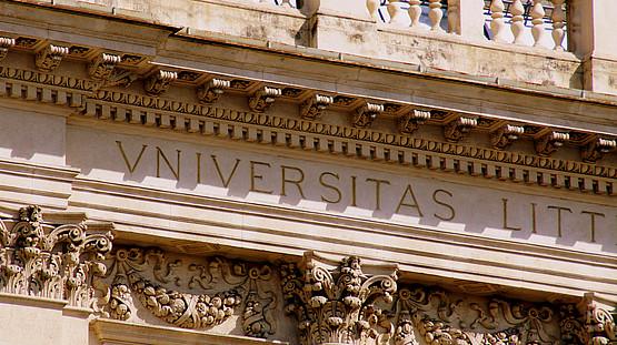 Gebäude, Universität, Antik, Universitas, Stuckatur