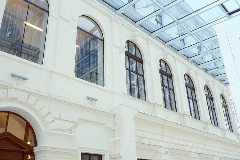 Bibliotheksführung Uni Graz Lehrgangsstart Library & Information Studies