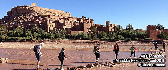 Ait Benhaddou - Marokko-Exkursion April 2015 © Ulrich Ermann