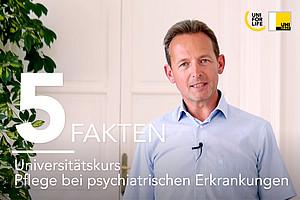"""Heribert Truschnegg, MSc, im Gespräch über den neuen Universitätskurs """"Pflege bei psychiatrischen Erkrankungen"""""""