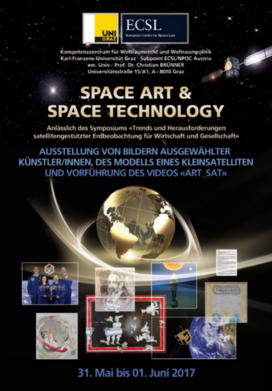 Austellungskatalog: Space Art & Space Technology
