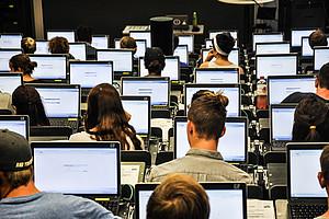 Elektronische Prüfungen sind aus dem Universitätsalltag nicht mehr wegzudenken. Foto: Uni Graz/Tzivanopoulos
