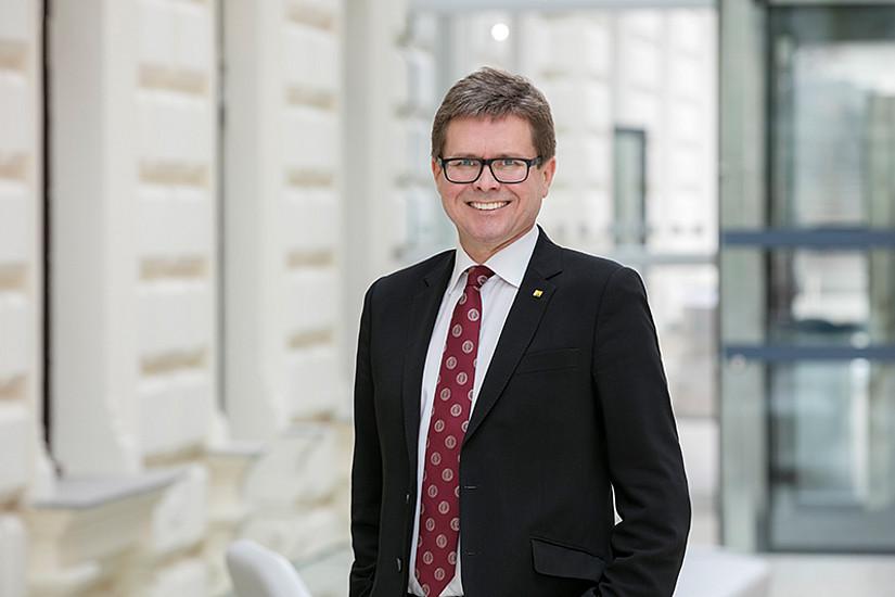 Rektor Martin Polaschek ist als Teil des Rectors' Council für die generelle Strategie sowie für die unmittelbaren und auch langfristigen Ziele der Hochschul-Allianz verantwortlich. Foto: Uni Graz/Eisenberger.