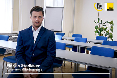 AbsolventInnen des MBA Insurance von UNI for LIFE berichten