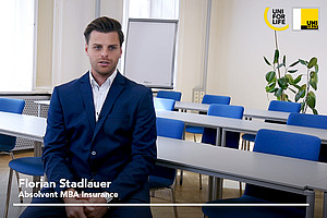 AbsolventInnen-Video MBA Insurance