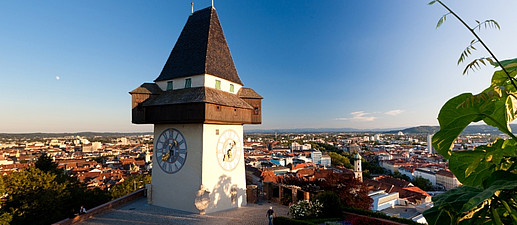 Uhrturm, Graz Tourismus - Harry Schiffer