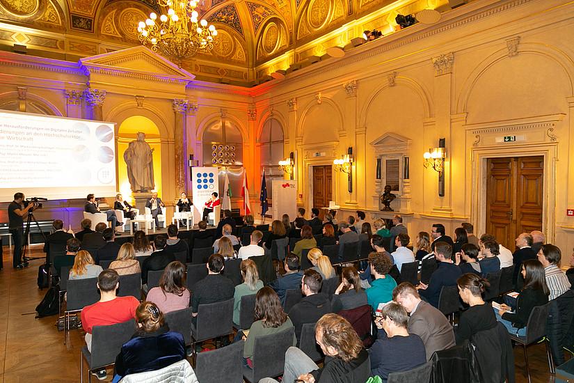 Die Veranstaltung an der TU Graz war sehr gut besucht (Foto: Robert Frankl)