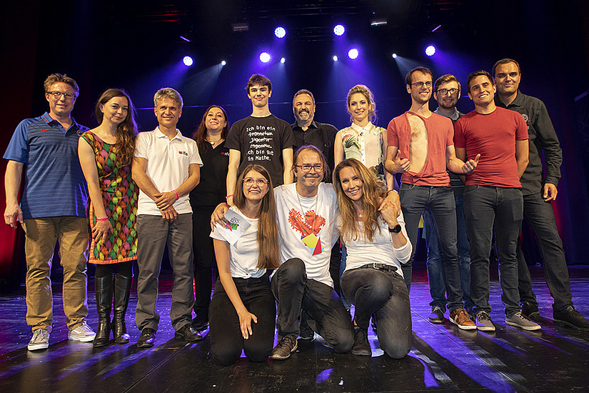 Geballte steirische Forschungspower beim mittlerweile 7. Styrian Science Slam Fotos: Steirische Hochschulkonferenz/Lunghammer