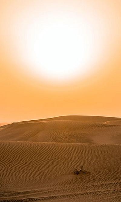 Gluthitze ist in Afrika in den letzten zwei Jahrzehnten wesentlich häufiger geworden. Verantwortlich sind die Emissionen der Industriestaaten. Foto: Pexels/Partenheimer