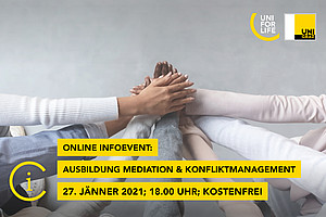 Online Infoevent Mediation am 24. November 2020