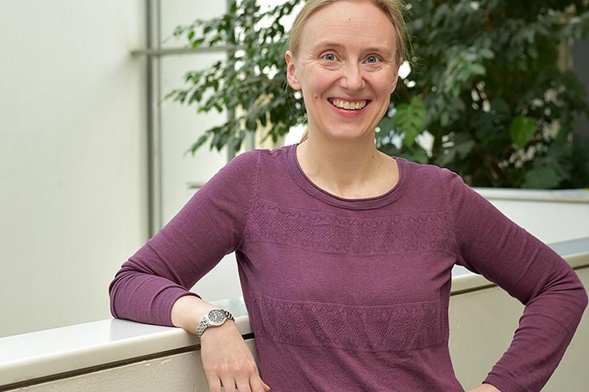 Anouschka Foltz ist neue Professorin für Englische Sprachwissenschaft an der Universität Graz. Foto: Uni Graz/Leljak.