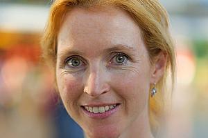 Martina Schmidhuber forscht an der Schnittstelle zwischen Philosophie und Medizin. Foto: Mittermüller