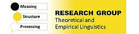 Research Group Theoretical and Empirical Linguistics