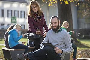 Die Universität Graz richtet ein Studienabschluss-Stipendium für erwerbstätige Studierende ein. Foto: Uni Graz/Lunghammer