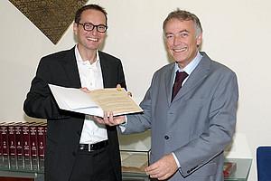 Wolfgang Bretschko und Hans-Ferdinand Angel