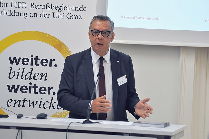 Business Brunch: Wolfgang Gratzer über Erfahrungen, die man nicht googlen kann