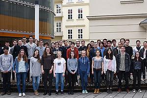 An der International Masterclass, die an der Uni Graz stattfand, nahmen 40 SchülerInnen aus der Steiermark und aus Salzburg teil. Fotos: Uni Graz/Kastrun.