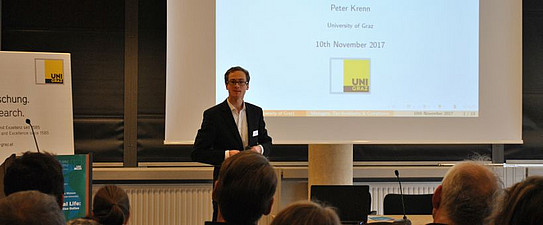 Peter Krenn (Accounting, Reporting and Taxation) | Foto: Uni Graz