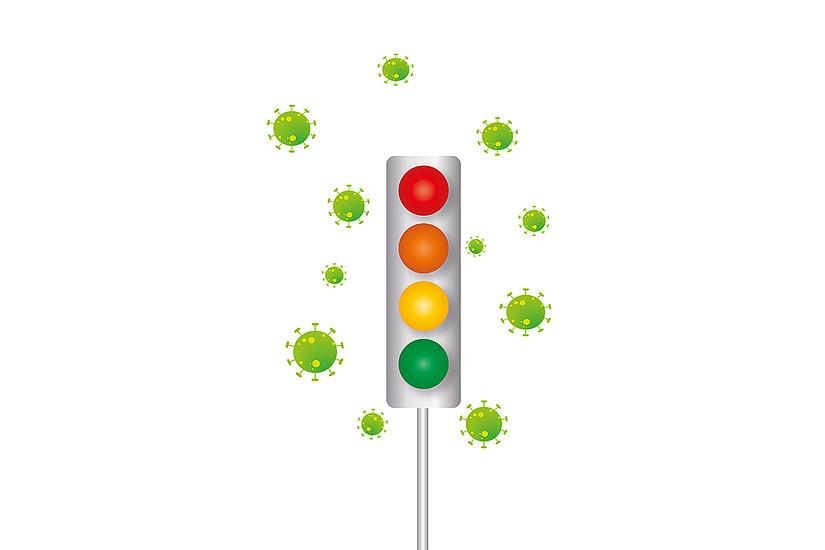 Die Ampel ist seit Covid-19 ein wichtiges Instrument. Foto: Uni Graz/Pixabay.com
