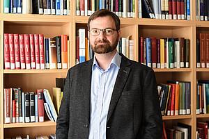 Gerald Lamprecht ist seit 1. März 2018 Professor für jüdische Geschichte unter besonderer Berücksichtigung der Zeitgeschichte an der Universität Graz. Foto: Uni Graz/Tzivanopoulos