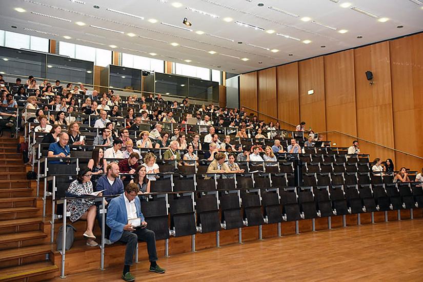 Die Gäste an der Universität Graz ...