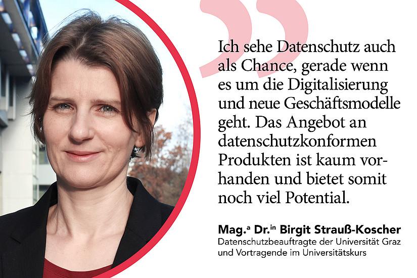 Datenschutzbeauftragte Birgit Strauß-Koscher