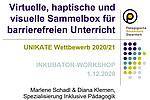 Studierende Schadl & Klemen für Unikate nominiert - Copyright PH Stmk