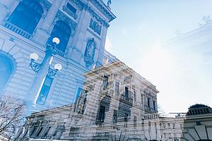 Die Universität Graz war Austragungsort des 14. Österreichischen Kongresses für Wirtschaftspädagogik - wenn auch in diesem Jahr nur digital. Uni Graz/Kanizaj