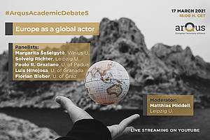 On Wednesday 17th March at 18:00 CET, Arqus holds the fifth Arqus Academic Debate.