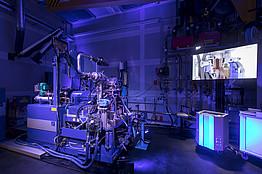 TU Graz, Eröffnung, Transmission Center